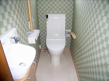 明るく清潔な家になってうれしいです。トイレの空気が良くなった気がします。
