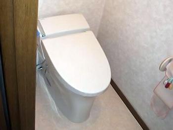 清潔感のあるトイレになり、とても嬉しいです。掃除も楽になりました。